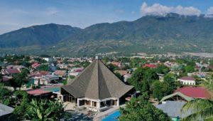 Masjid Nurul Hasanah Bantuan Masyarakat Aceh di Kota Palu, Sulawesi Tengah